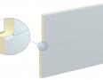 Холодильна сендвіч панель ARPANEL CH PIR