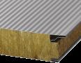 Сендвіч-панелі BALEXTHERM-MW-W-PLUS з основою з мінеральної вати, стінові з прихованим кріпленням
