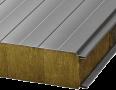 Сендвіч-панелі BALEXTHERM-MW-W-ST  з основою з мінеральної вати, стінові з відкритим кріпленням