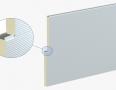 Стінові сендвіч-панелі ARPANEL S PIR - стандартна система кріплення