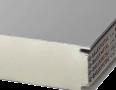 Сендвіч-панелі BALEXTHERM-PU-W-ST з поліуретановою основою, стінові з відкритим кріпленням